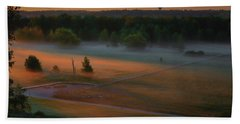 Morning Mist Over Dyarna #h7 Bath Towel