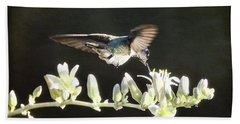 Morning Nectar Flyby  Bath Towel