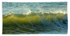 Morning Ocean Break Hand Towel