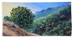Morning On A Hilltop Hand Towel