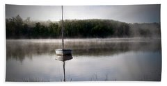 Morning On White Sand Lake Bath Towel