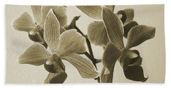 Morning Orchid Hand Towel