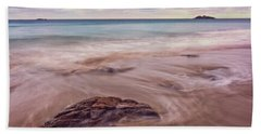 Morning Pastels Singing Beach Ma Hand Towel