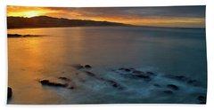 Morning Seascape Hand Towel
