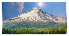 Morning View Of The Mt Hood Hand Towel