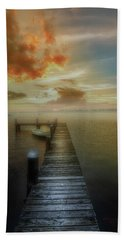 Mornings First Light Hand Towel by Marvin Spates