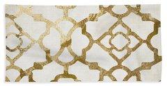 Moroccan Gold I Bath Towel