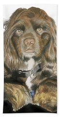 Mose - Cocker Spaniel Bath Towel