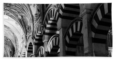Mosque Cathedral Of Cordoba 6 Bath Towel by Andrea Mazzocchetti