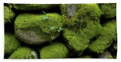 Bath Towel featuring the photograph Moss And Ivy by Mike Eingle