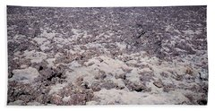 Moss-covered Lava Flow, Iceland Bath Towel