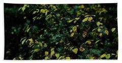 Moss In Colors Hand Towel
