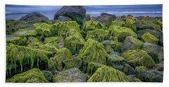Moss Rocks Hand Towel
