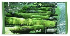 Mossy Fence Hand Towel