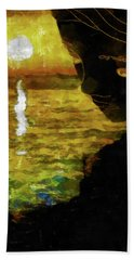 Hand Towel featuring the photograph Mother Earth Watching by Joseph Hollingsworth
