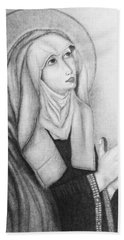Mother Of Sorrows Version1 Hand Towel