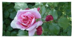 Mother Rose Hand Towel