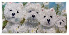 Mother's And Daughters Bath Towel