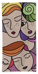 Mothers And Daughters Bath Towel