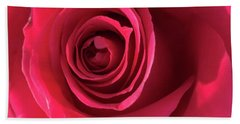 Mother's Rose Hand Towel