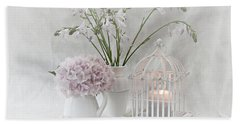Mother...tell Me Your Memories Bath Towel by Sherry Hallemeier