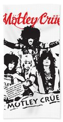 Motley Crue No.01 Bath Towel