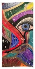 Motley Eye Bath Towel