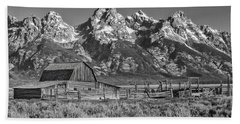 Moulton Cabin - Grand Tetons II Bath Towel