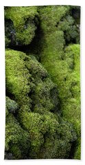 Mounds Of Moss Hand Towel
