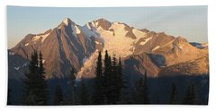 Hand Towel featuring the photograph Mount Cooper Morning by Cathie Douglas