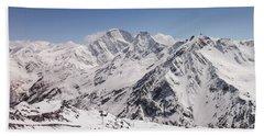 Mount Elbrus Bath Towel