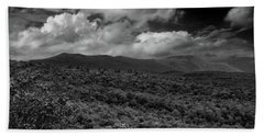 Mount Greylock In Black And White Bath Towel
