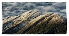 Mount Higgins Clouds Hand Towel