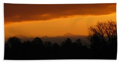 Hand Towel featuring the photograph Mount Lassen 03 01 11 by Joyce Dickens