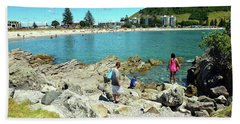 Mount Maunganui Beach 12 - Tauranga New Zealand Bath Towel
