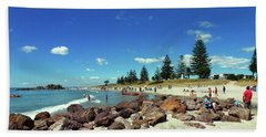 Mount Maunganui Beach 6 - Tauranga New Zealand Bath Towel
