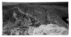 Hand Towel featuring the photograph Mount Minsi From Mount Tammany by Raymond Salani III