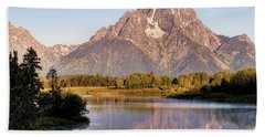 Mount Moran Hand Towel