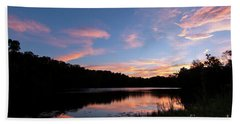 Mount Saint Francis Sunset - D010121 Bath Towel