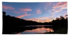Mount Saint Francis Sunset - D010121 Bath Towel