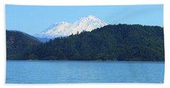 Mount Shasta And Shasta Lake Bath Towel