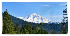 Mount Shasta Hand Towel