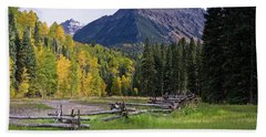 Mount Sneffels In Autumnn Hand Towel