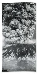 Mount St. Helens Eruption, 1980 Bath Towel