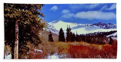 Mount St Vrain  Bath Towel