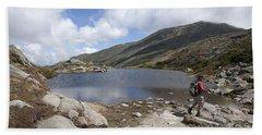 Mount Washington - New Hampshire Usa Lakes Of The Clouds Bath Towel