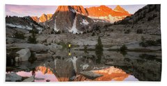 Mountain Air  Hand Towel by Nicki Frates