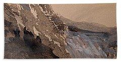 Mountain Cliff Bath Towel