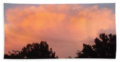Hand Towel featuring the photograph Mountain Clouds 7 by Don Koester