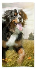 Mountain Dog Hand Towel
